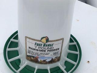 New 7 pound chicken feeder