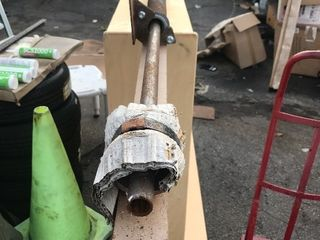 New single door garage spring set as pictured