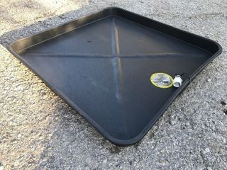 Do 30 x 30 drain pan any application you need to catch water and run it off