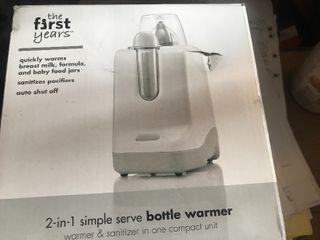 Baby bottle warmer inbox
