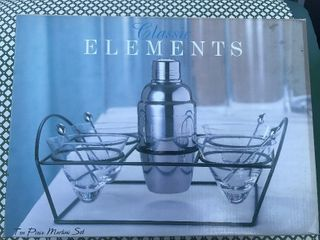 New eight piece martini set
