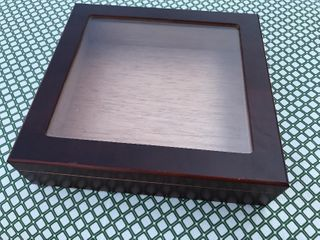 Nice clear glass top cigarbox