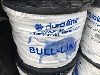 large roll of bull line used for pulling electrical wire or great for tying up tomato plants for summer