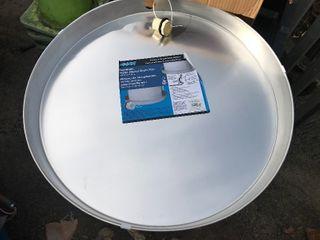 large hot water heater drain pan