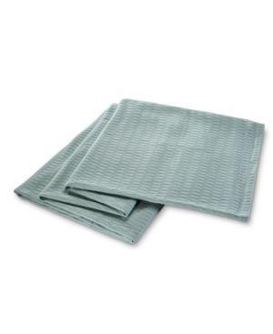 Impressions All Season luxurious 100  Cotton Blanket Full Queen  Aqua