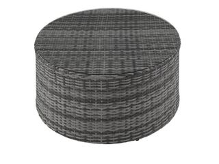 Catalina Wicker Round Coffee Table  Retail 252 49