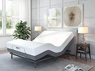 Classic Brands Adjustable Bed Base with Massage Wireless Remote and USB Ports   Retail 515 49
