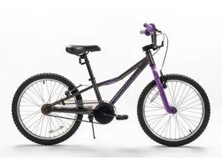 TITAN lightning 20 Inch Aluminum Short Frame Hybrid Youth BMX Bike  Purple   Black  Retail 205 99