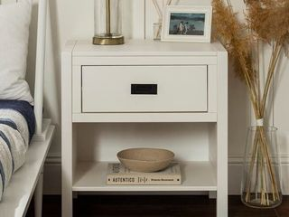 Carson Carrington Modern 1 Drawer Nightstand  Retail 141 49