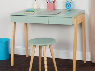 TMS Riley Kids Writing Desk with Stool Set  Multiple Colors