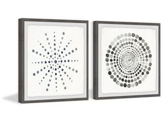 Marmont Hill   Handmade Dots Portal Diptych  Retail 211 49