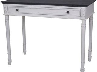 International Caravan Ashbury 1 Drawer Writing Desk Table  Retail 232 99