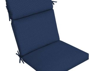 Pack of 4 Arden Selections DriWeave Sapphire leala Outdoor High Back Chair Cushion   44 in l x 21 in W x 4 5 in H