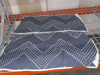 Ink and Ivy large Reversible Quilt and 2 pillowcases
