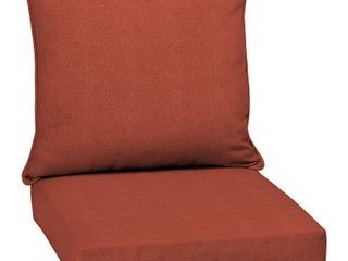 Arden Selections Sedona Woven Outdoor 24 in  Conversation Set Cushion   46 5 in l x 25 in W x 6 5 in H  Retail 79 48