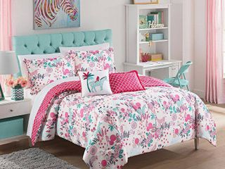 Waverly Kids Reverie Reversible 3 piece Comforter Set