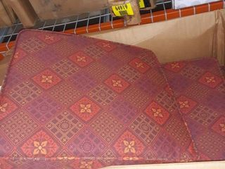 21x21x4  Southwest Outdoor Seat Cushions  set of 2