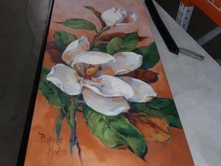 46 5 x 23  Magnolia Canvas