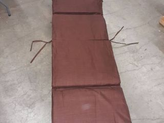 Blazing Needles 72 inch All Weather Chaise lounge Cushion  Retail 93 49