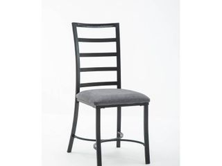 Bastian Metal and Upholstered Dining Room Chair Set of 4  Retail 199 99