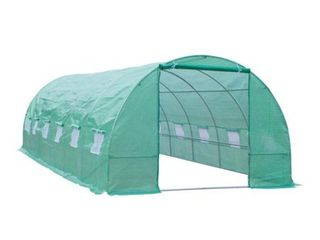 Outsunny 26  x 10  x 7  Outdoor Portable Greenhouse Piping only