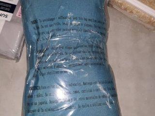 Set of 2 Teal Coronado Rectangular Pillows 10x18