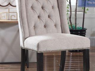 Best Mazter Furniture Beige Dining Room Chairs  set of 2