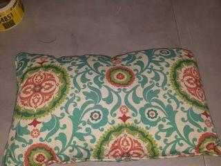 Box of 2 Morgan Home Waverly lexie Indoor Outdoor lumbar Pillow