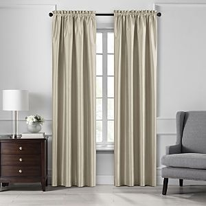 Colette 52  x 84  Faux Silk Blackout Curtain Panel