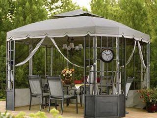 Sunjoy Replacement Canopy Set for Gazebo Model l GZ120PST 2  Retail 81 48
