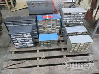 2 Steel hardware cabinets full of supplies blue 0 JPG