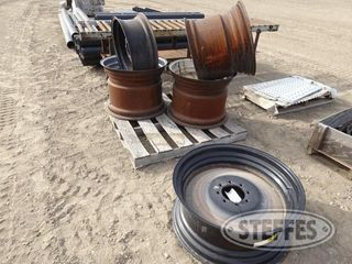 Steel rims to include 1 jpg