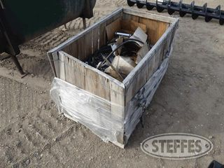 Crate w misc parts hyd hose 1 jpg