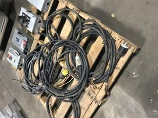 Asst 3 phase electrical cords safety switches 1 jpg
