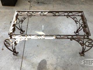 Metal Patio Table 0 jpg