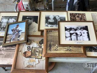 Framed Baseball Memorabilia Prints 0 jpg