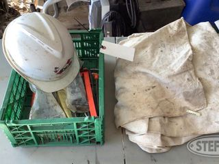 Drop Cloth Hard Hat Crate of Stakes 0 jpg