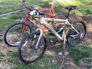 2 Mountain Bikes Air Pump 0 jpg