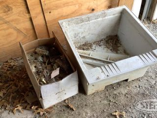 Utility Wash Sink Box of Roofing Nails 0 jpg