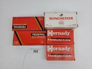 Federal  Winchester  Hornady  22 250 Ammo