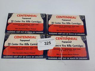 4   Boxes of Centennial  22 250