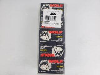Wolf  223 Remington 500 Count Pack