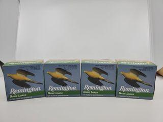 4   Boxes Remington 20 Gauge Game load