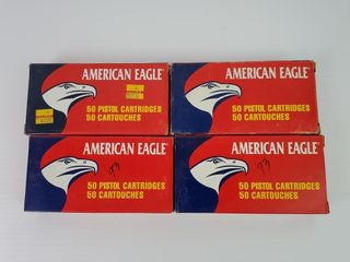 4  Boxes American Eagle  45 ACP
