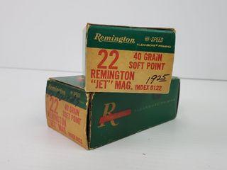 Remington  22 Rem Jet Mag Ammo