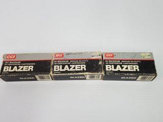 3  CCI Blazer Ammo Boxes