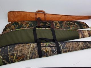 Allen  Mossy Oak  Red Head Gun Cases