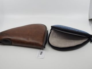 2   Soft Pistol Cases