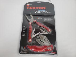 Tekton 2pc Sportsman Multi Tool Set