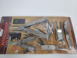 Winchester 6pc  Knife   Tool Set